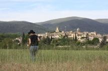Vue sur le Village de Lourmarin